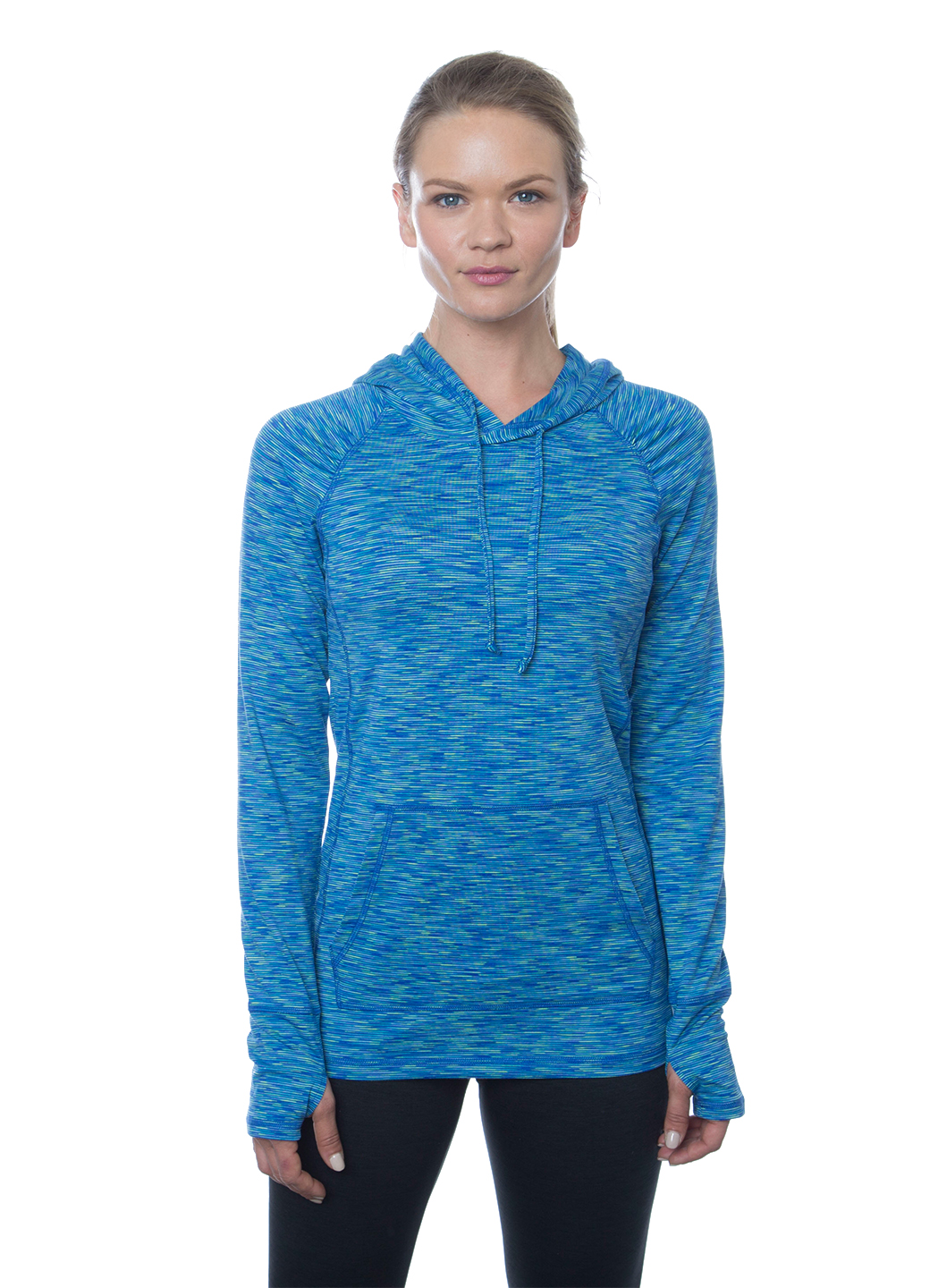RBX Active Stratus Space Dye Peached Hoody