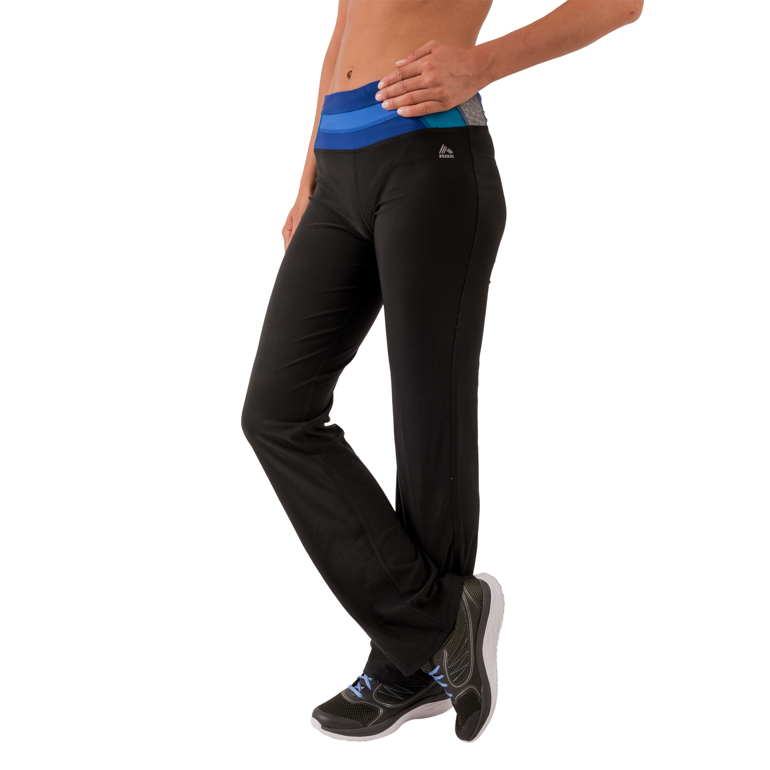RBX Active Women's Boot Cut Yoga Pants With Paneled