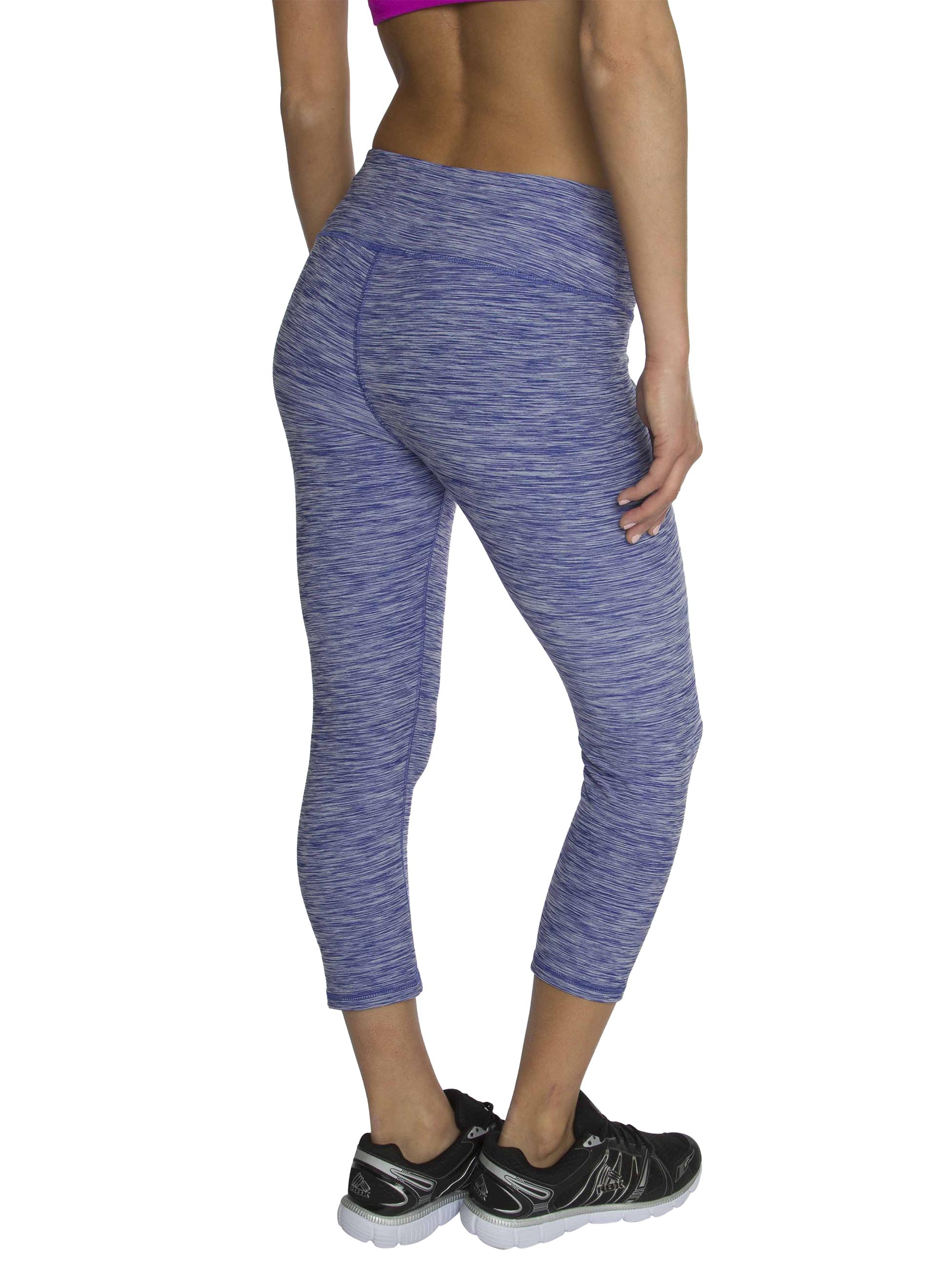 RBX Active Womenu0026#39;s Seasonal Printed Capri Length Yoga Leggings | eBay
