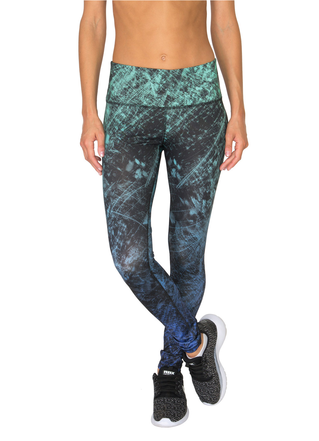 RBX Active Ombre Splatter Printed Leggings