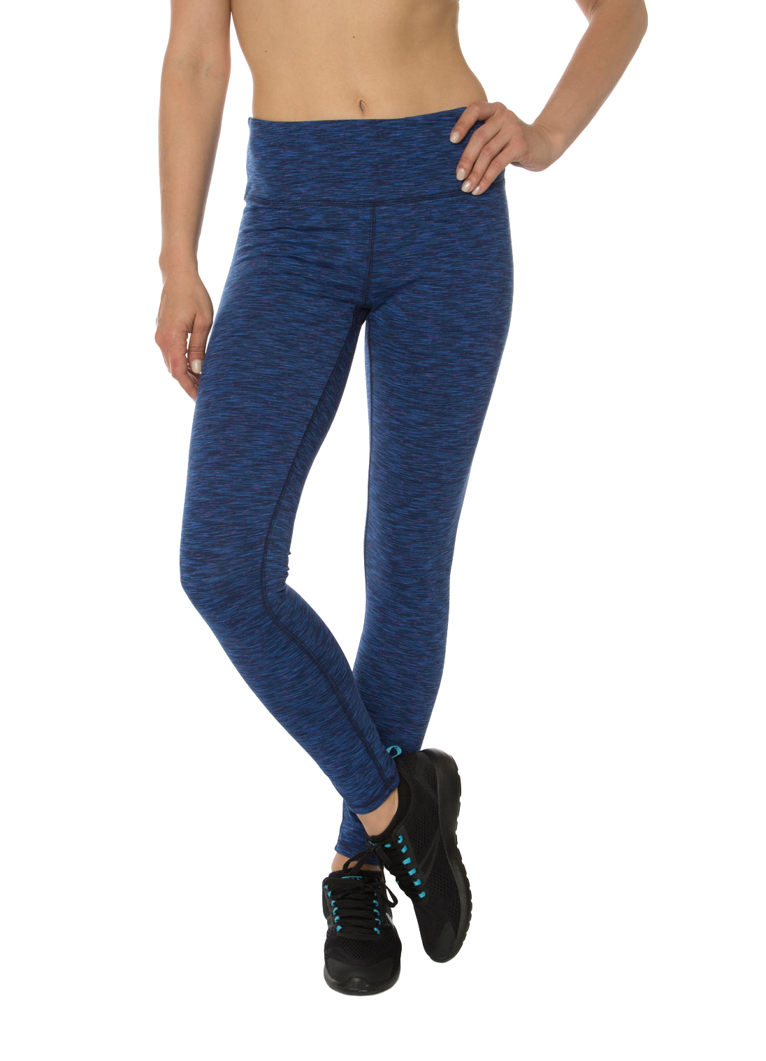 RBX Active Stratus Speckled Space Dye Peached Leggings