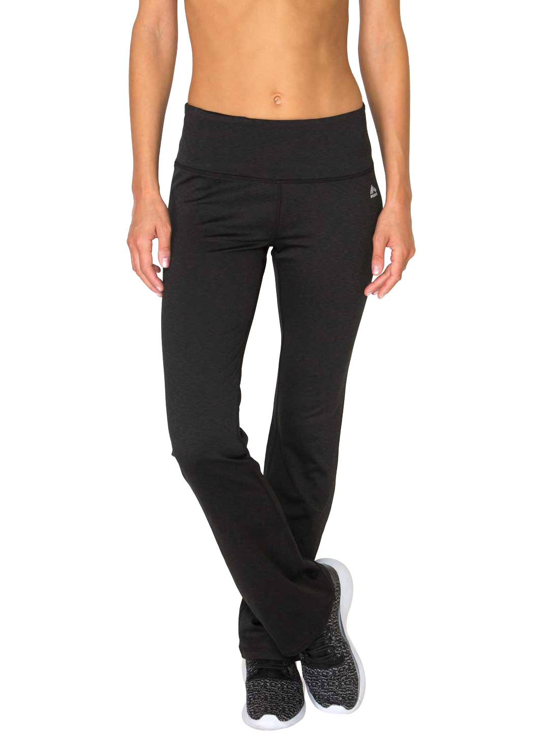 RBX Active Striated brushed back bootcut leggings