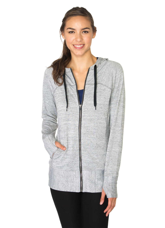 RBX Active Studio Lightweight Sweater Full-Zip Hoodie