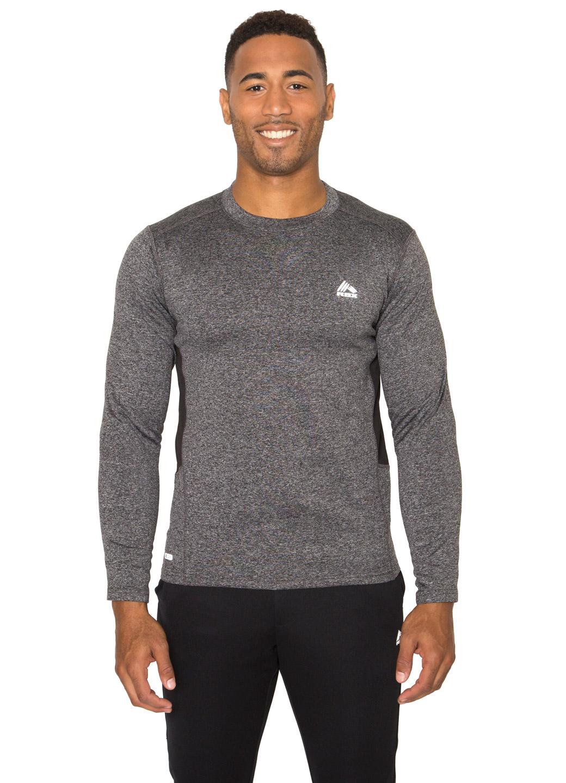 Rbx Active Men 39 S Long Sleeve Insulated Running Shirt Ebay