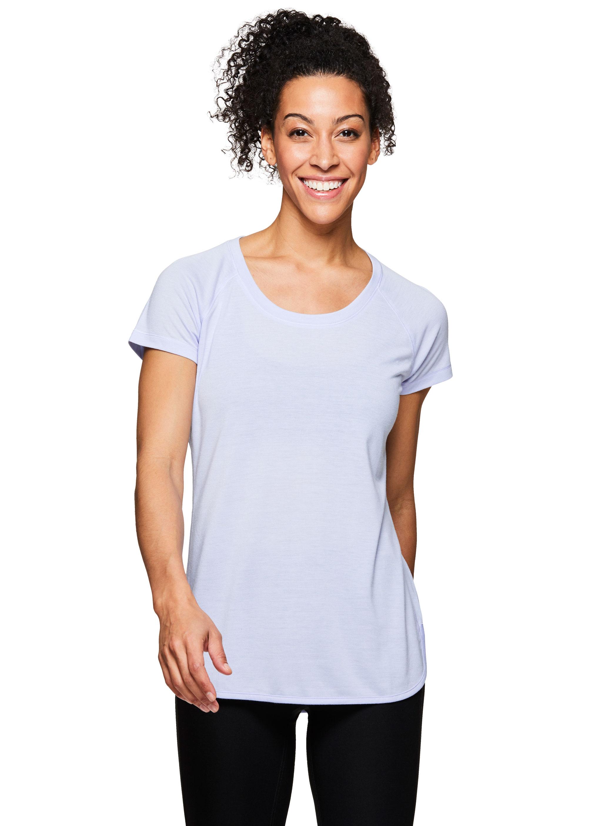 62a4f2156d RBX Active Women's Short Sleeve Yoga Shirt | eBay