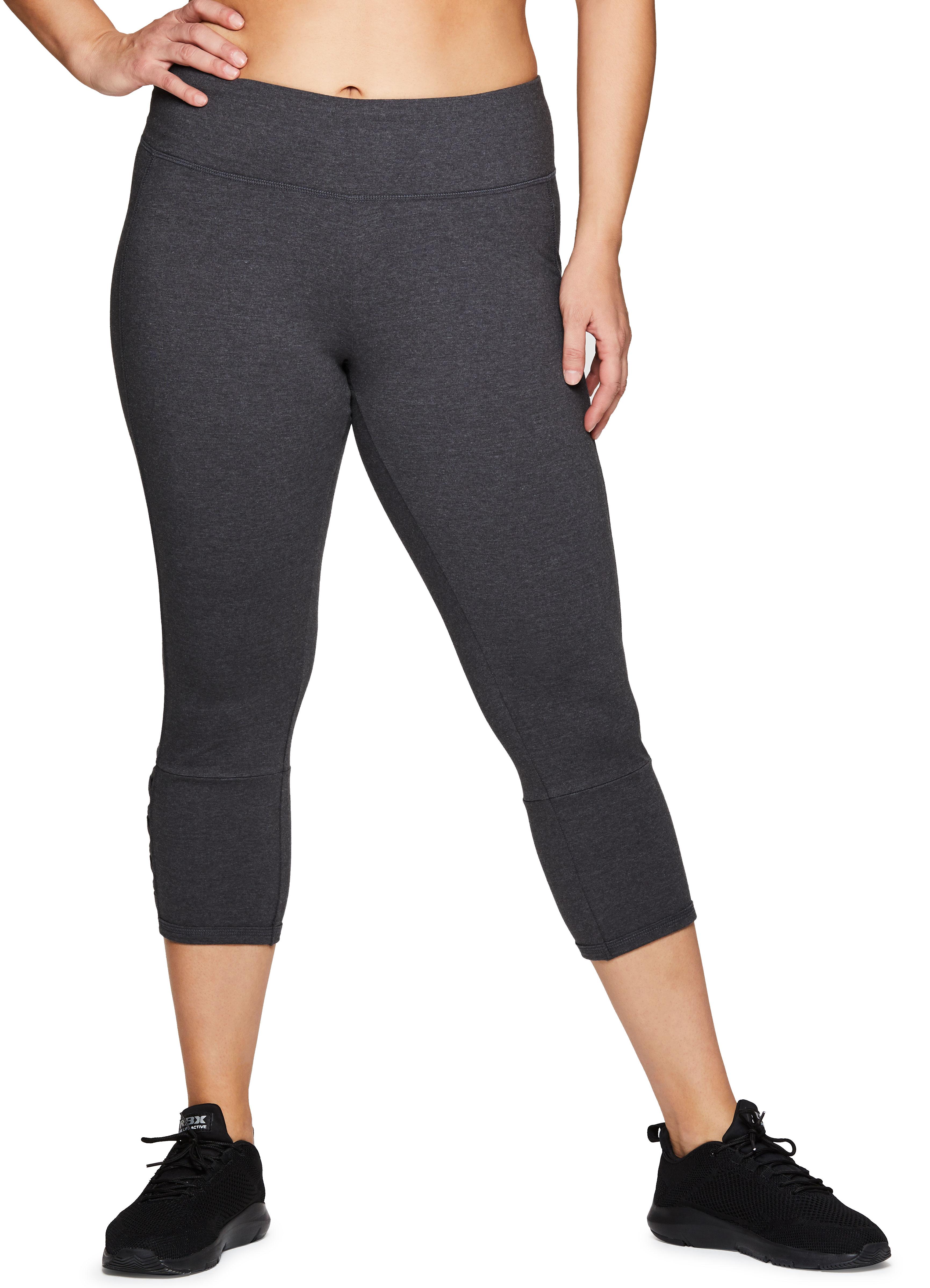 ba8b3df38f RBX Active Women's Plus Size Cotton Spandex Fashion Workout Yoga ...