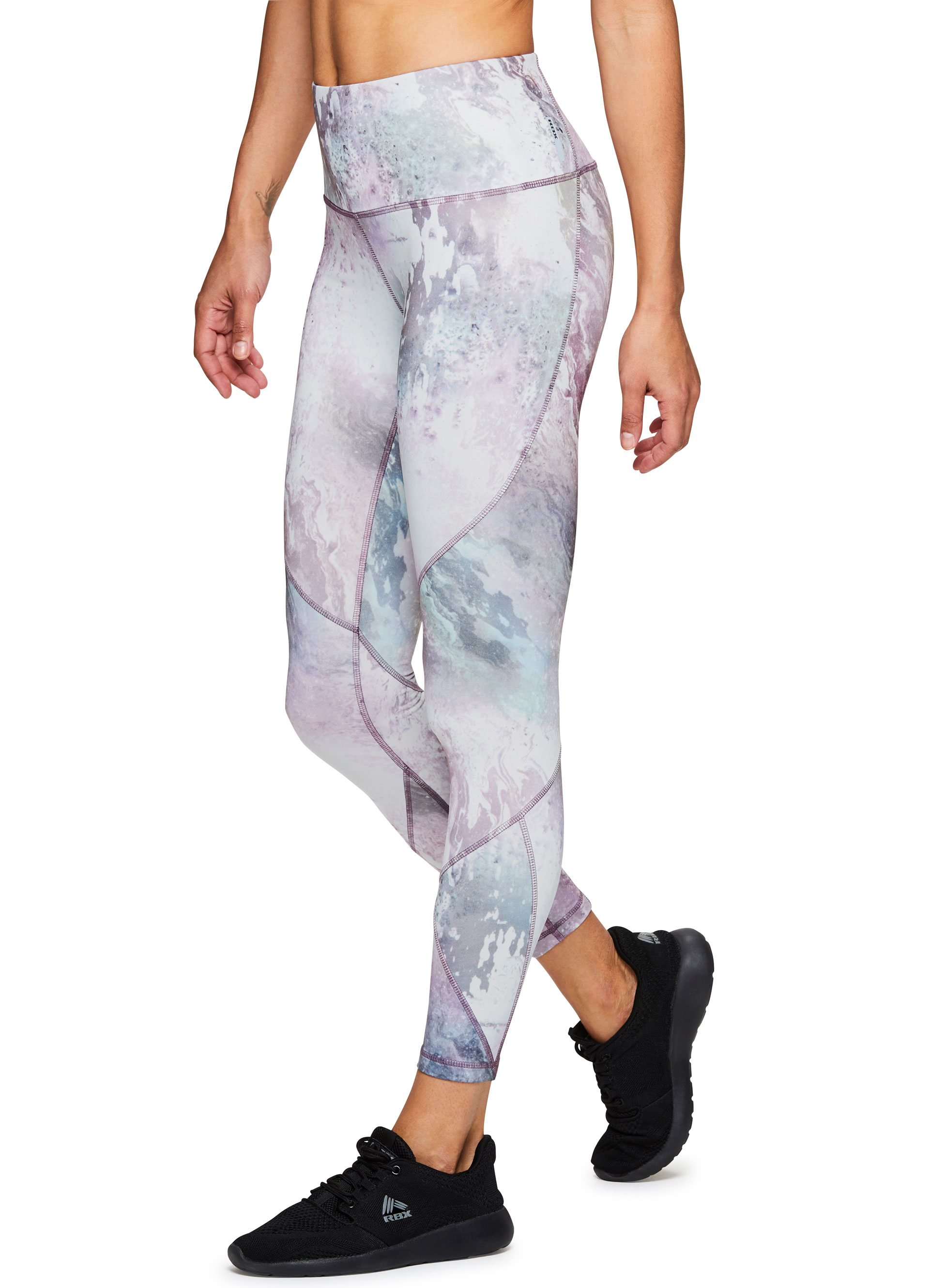 9d479eed3650a RBX Active Women's Printed Running Workout Yoga Leggings | eBay