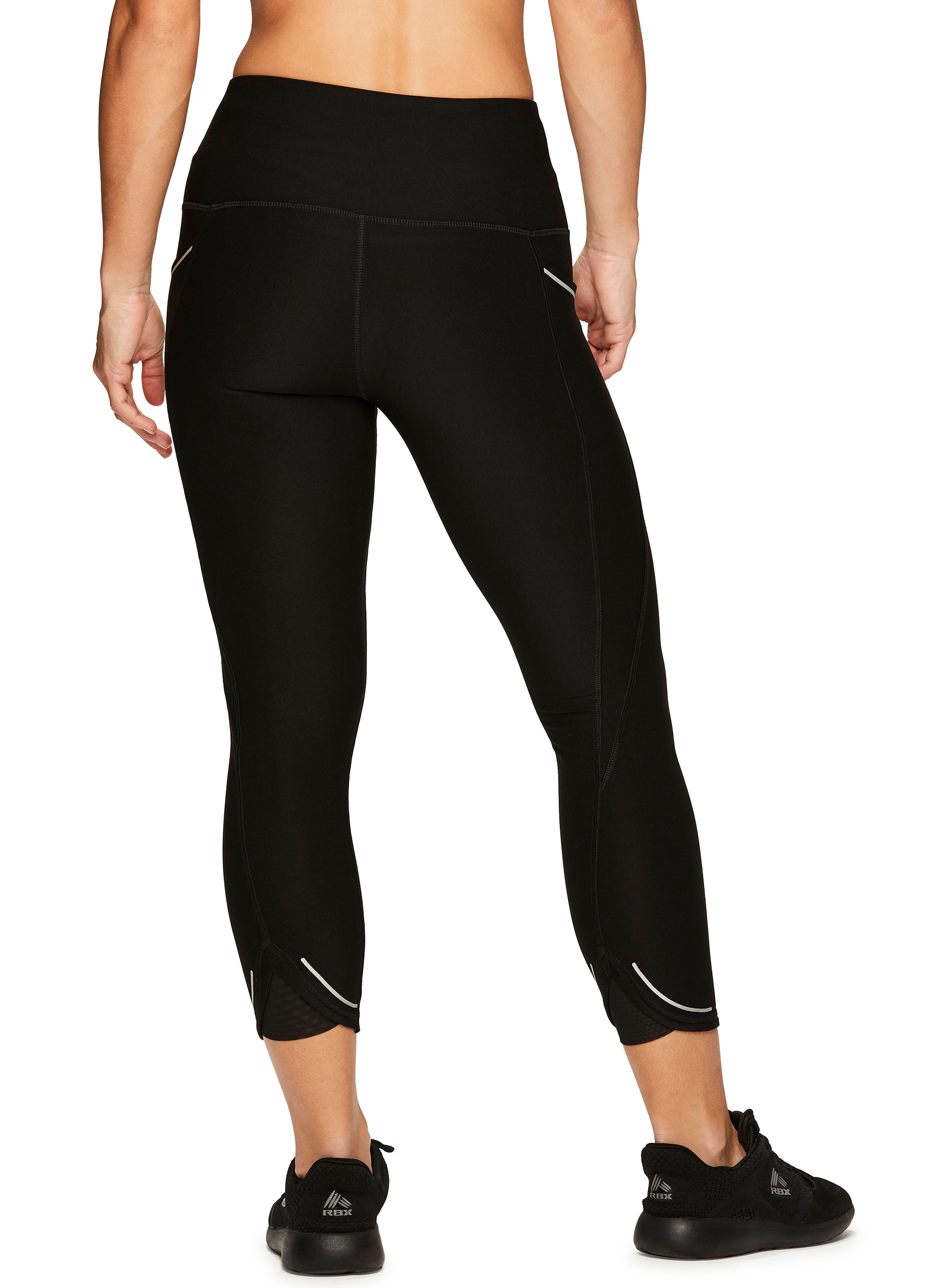 e6ba7bf5b41a1 RBX Active Women's Athletic Gym Workout Yoga Capri Length Legging ...