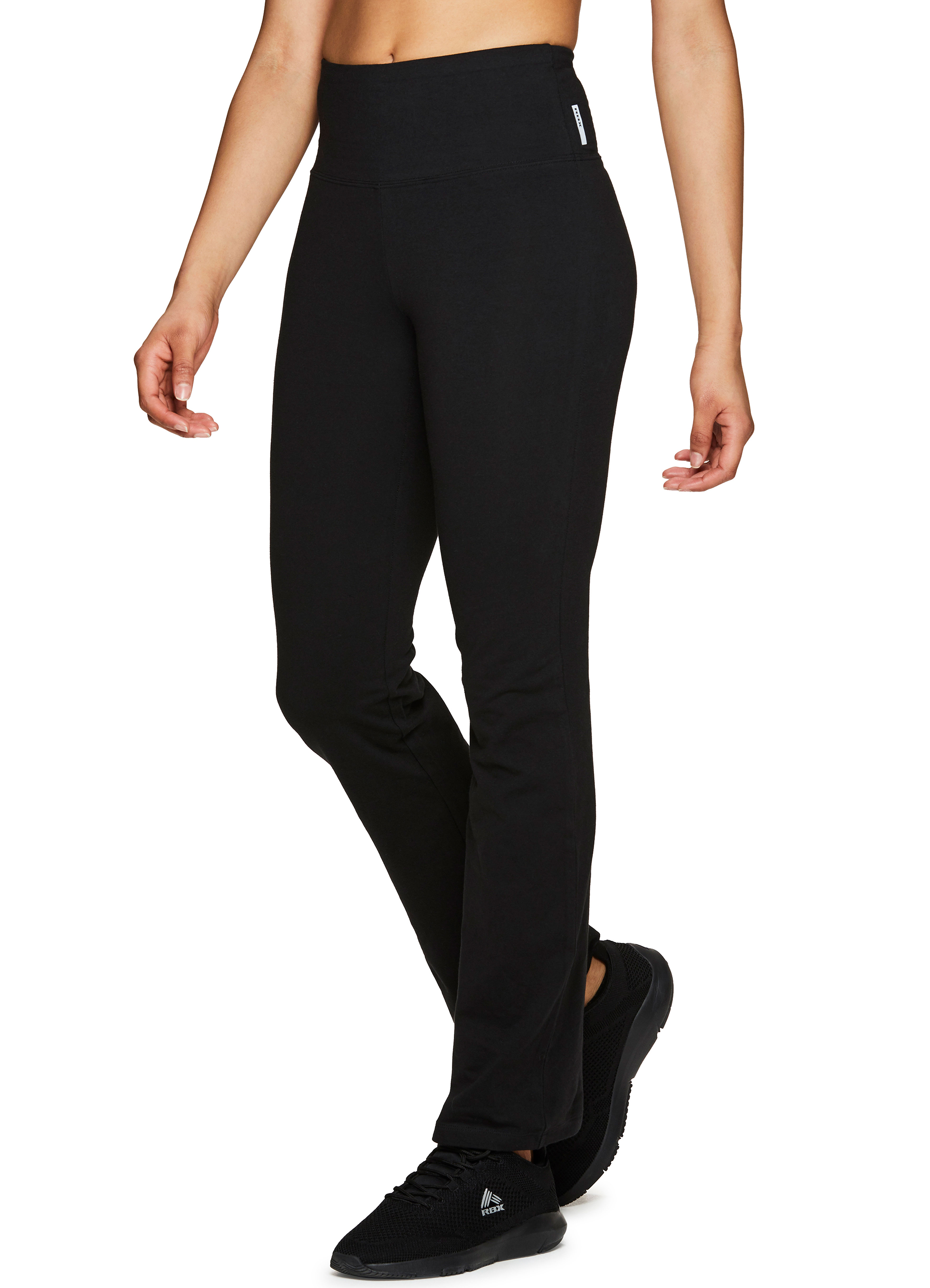 best loved value for money provide plenty of Details about RBX Active Women's Full Length Tummy Control Workout Bootcut  Yoga Pants